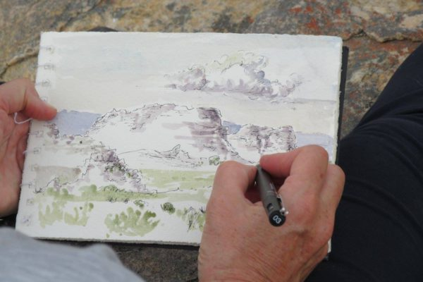 Cedarberg sketch